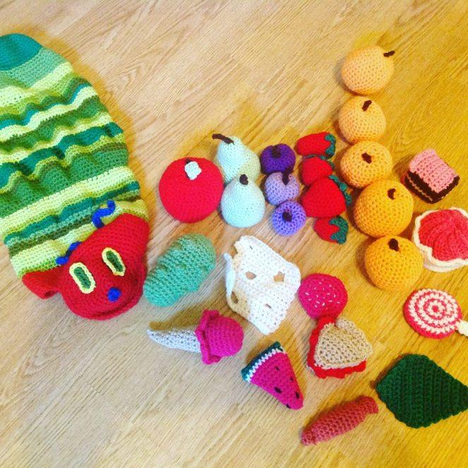 PATTERN: Caity the Caterpillar Crochet caterpillar pattern | Etsy | 663x663